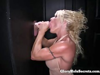 gloryhole secrets gina cum loving fitness milf