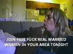 big tit wife engulfing large dark cock he is