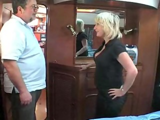 older british blonde fucking om a boat