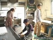 slutty japanese milfs sucking and fucking