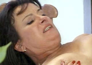 bushy older vagina