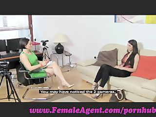 femaleagent. virgin lesbo