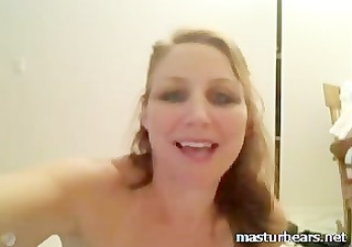 riding dildo with my unshaved pussy on a mirror