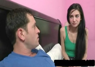 newbie legal age teenager lets her stepmom ray
