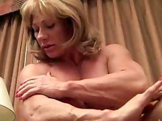 older muscle showoff