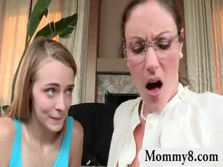 angry d like to fuck stepmom gets a facial spunk