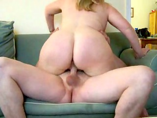 mature corpulent wife on daybed