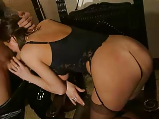 hawt french mature anal