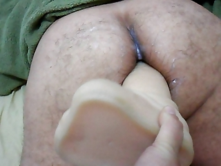 wife dong on large sex toy in wazoo your husband