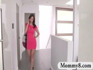 stepmom mother i kendra lust in a trio with a
