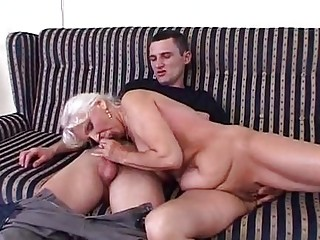 piss granny in satin urinate and fuck