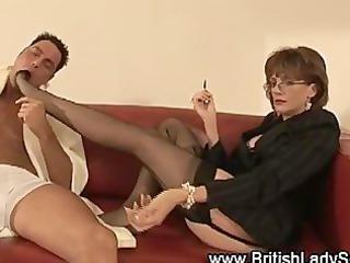 femdom fetish mature stockinged playgirl
