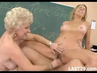 older excited ladies acquire screwed hard