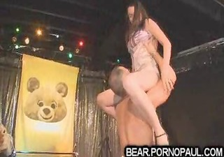 male strippers receive blowjobs at party