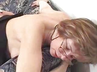 granny receives caught