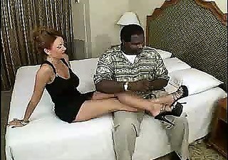 fascinating aged amateur milf wife interracial