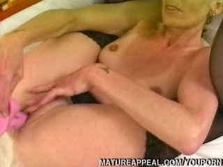 mature blond anal drilled