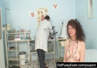 unshaven pussy extraordinary karla visits a doc