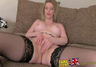 stocking clad mother i gives oral pleasure feast